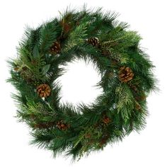 30 Inch Mixed Pine Timbercove Wreath $51.99