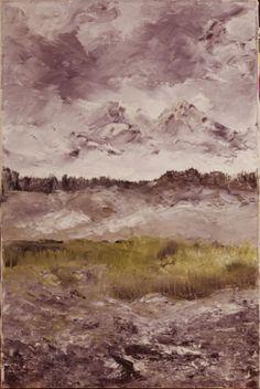 August Strindberg: Alplandskap, 1905