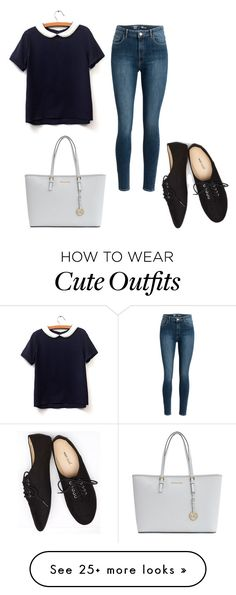"""Cute outfit"" by katebanks1 on Polyvore featuring Wet Seal and MICHAEL Michael Kors"