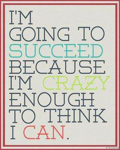 I'm going to succeed - Motivation Blog - Motivation quotes