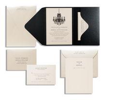 Taylor & Merrill Wedding Invite25 qty. by Merchant's | Merchant's Invites