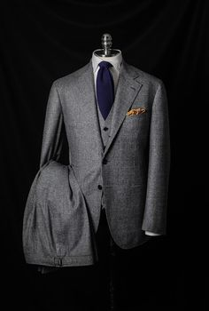 Grey Plaid Suit