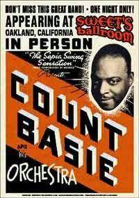Jazz Fan Art: Count Basie and His Orchestra (show poster) Band Posters, Cool Posters, Music Posters, Type Posters, Theatre Posters, Vintage Concert Posters, Vintage Posters, Retro Posters, Vintage Images