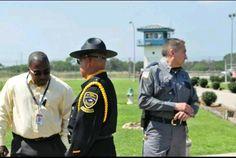 texas department of criminal justice stevenson unit warden honor guard and captain senz
