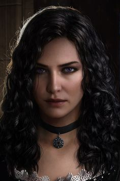 Yennefer of Vengerberg by Astor Alexander - witcher Yennefer Witcher, Yennefer Cosplay, Witcher Art, Yennefer Of Vengerberg, The Witcher Wild Hunt, The Witcher Game, Fantasy Characters, Female Characters, Witcher 3 Characters