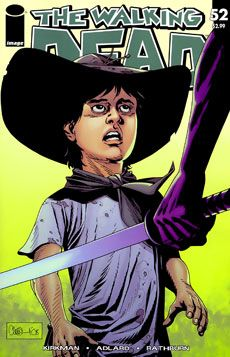 The comic book for the Walking Dead is almost the same as the TV show but they are different. The comic book goes way more in depth and does a few things differently. If someones a fan of the TV show they should check out the comic.
