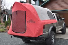 Redhead Sundowner Series Truck T Tent Campers, Camper Caravan, Diy Camper, Truck Bed Tent, Truck Bed Camping, Pickup Camper, Pickup Trucks, Hauling Trailers, Camping Survival
