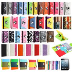 360 Degree Rotating PU Leather Case Cover with Swivel Stand For iPad Mini 1 2 3 http://zingxoom.com/d/cwHHJ7RR