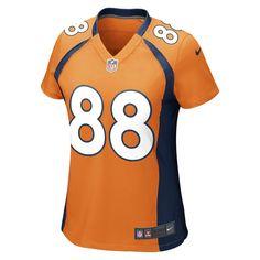 Nike NFL Denver Broncos (Demaryius Thomas) Women's Football Home Game Jersey Size Medium (Orange)