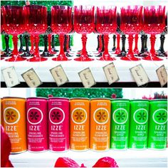 Alice In Wonderland Bat Mitzvah Theme Ideas - Drink Me Drinks {Party by Swank Productions, Sean Smith Photography} - mazelmoments.com