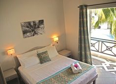 Mont Choisy Beach Villas duplex bedroom 2 #mauritius #memoris #sharingmemoris