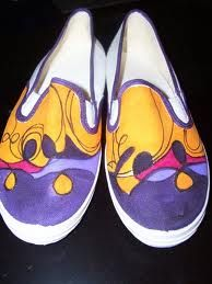zapatillas pintadas - Buscar con Google