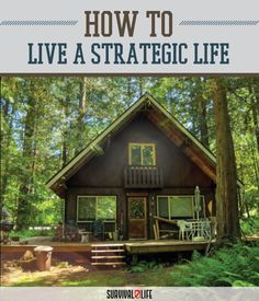 Looking for Survival Gear, Skills and Tips? Survival Life is the best place for Survival information on being prepared. Little Cabin, Little Houses, Tiny Houses, Cabin Homes, Log Homes, Forest Cabin, Cabin In The Woods, Cabins And Cottages, Log Cabins