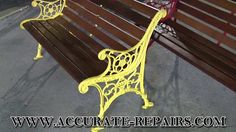 Various Outdoor Wood & Cast Iron Benches Garden Furniture Sale, Patio Furniture Sets, Outdoor Furniture, Outdoor Decor, Garden Sofa, Garden Table, Garden Chairs, Old Benches, Old Chairs