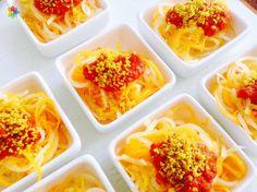 """Pastas: """"Espaguetis de anco y nabo con ketchup y queso de nueces"""" en clase 6: www.conscienciaviva.com #alimentacionconsciente #veganismo"""