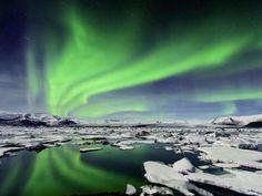 Também conhecidas por 'luzes do norte', as auroras boreais são um dos espetáculos da natureza que ma... - Divulgação