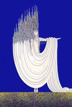 Fashion Illustration Dolores Delargo Towers - Museum of Camp