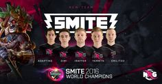 NRG eSports adds Smite World Champions to the roster   NRG eSports has officially signed a deal withPanthera the 2016 SMITE World Championship and DreamHack SMITE Masters 2016 champions. The team is currently competing in the Smite Pro League European Fall placement tournament and will begin playing under the NRG flag effective immediately.  This is a big step for NRG toward developing a winning culture NRG Esports co-founder Gerard Kelly told ESPN. These guys know what it takes to prepare…