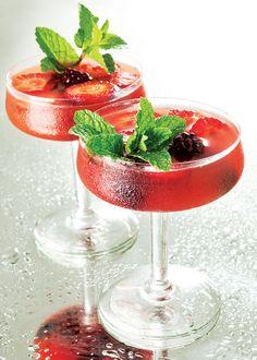 Ponche de frutas vermelhas / DIY, Drink