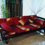Bamboo Living Room furniture in Costa Rica Costa Rica, Bamboo Architecture, Outdoor Furniture, Outdoor Decor, Living Room Furniture, Sofas, Couch, Bed, Interior