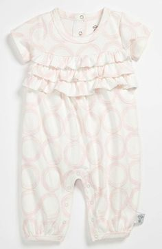 Little Giraffe Ruffle Romper (Baby) available at #Nordstrom