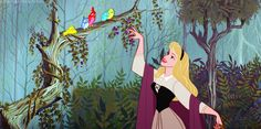 ART BY DISNEY, SLEEPING BEAUTY