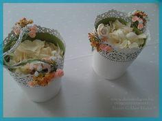 Esküvői dekor része a picik kezébe, menyasszony elébe a virágszirom