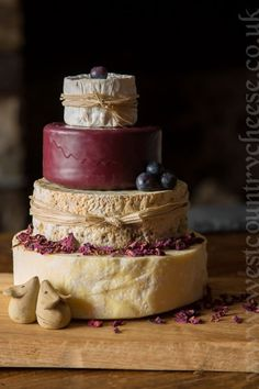 Small Rustic Celebration Cake