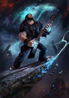Brutal Legend, Jack Black.