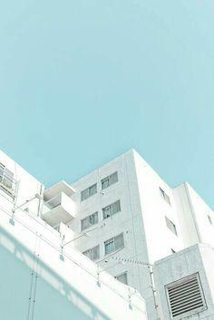 25 ideas design layout architecture building for 2019 Light Blue Aesthetic, Blue Aesthetic Pastel, Orange Pastel, Everything Is Blue, 3d Studio, Theme Color, Blue Tones, Aesthetic Pictures, View Photos