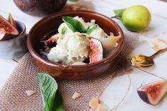 Lime Ice Cream, Coconut Ice Cream, Coconut Milk, Runner Beans, Fresh Lime, Vegan Desserts, Dairy Free, Paleo, Sweets