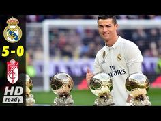Ballon d'Or holder and Real Madrid star Cristiano Ronaldo has named the players he believes will be his main contenders for the award this year, including Barcelona duo Lionel Messi and Neymar. Cristiano Ronaldo, Adobe Cc, Football Trophies, Football Jokes, Santiago Bernabeu, Ballon D'or, Gym Video, Yachts, Sports