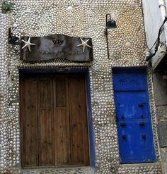 Seaside Style: Casa Concha { Sea Shell Houses }