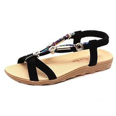 AIMTOPPY HOT Sale, Women's Summer Sandals Shoes Peep-toe Low Shoes Roman Sandals Ladies Flip Flops Black) ** Learn more by visiting the image link. (This is an affiliate link) Red Sandals, Fashion Sandals, Flip Flop Sandals, Ladies Sandals, Slide Sandals, Ladies Shoes, Shoes Women, Gladiator Sandals, Peep Toe