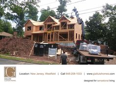 Roofing materials arriving as scheduled on 7 Amy Drive - call 848-208-1033 (FREE) for details #NewJersey #HomeBuilders