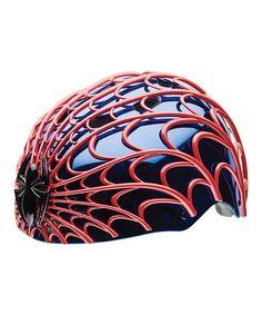 Another great find on #zulily! Spider-Man Web-Head Child Bike Helmet #zulilyfinds
