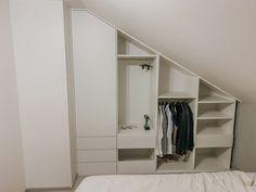 Dressing Room Design, Barbie Dream, Sloped Ceiling, Storage Solutions, Future House, Decoration, Loft, Bedroom, Closets