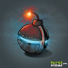 Carefull with this one - Spherical Bomb Concept Art