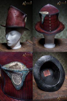 Steampunk Top Hat by Aetherwerk on DeviantArt