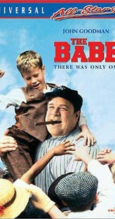 Directed by Arthur Hiller. With John Goodman, Kelly McGillis, Trini Alvarado, Bruce Boxleitner. Babe Ruth becomes a baseball legend but is unheroic to those who know him. Baseball Movies, Baseball Live, Better Baseball, Babe Ruth, Arthur Hiller, Kelly Mcgillis, Bruce Boxleitner, Fourth World, Emma Thompson