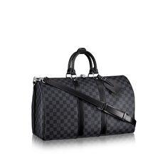 Damier Graphite Canvas - Discover Louis Vuitton Keepall 45 Bandoulière via Louis Vuitton