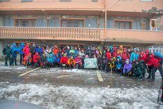 70 personas la ruta al Felispardi por motivo del #DIM2014 en el Mampodre