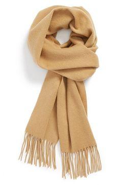Everyone needs a camel scarf