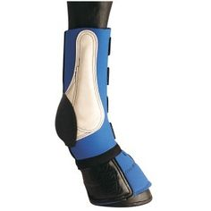The Equi-Prene Combo Boots are a 4-in-one combination that serve a variety of benefits like over-reach, fetlock, shin and cannon bone protection. They offer excellent protection while transportation and during training as well. The cups in the boots are made from molded rubber. It also comes with split leather reinforcement.