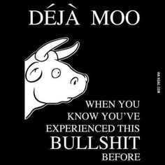 I'm experiencing a strong feeling of Deja Moo...  ~~ Houston Foodlovers Book Club