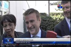 """Embajador  de EE.UU Dijo que es un Deber De Cada Ciudadano Votar Por El Presidente De Su País, """"Se Rehusa a Hablar Sobre Video De La Vicepresidenta"""""""