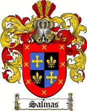 Salinas Coat of Arms / Salinas Family Crest