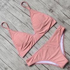 Smart 2018 Thong Sexy Green Women Leopard Swimsuit Swimwear Female Brazilian String Push Up Retro Bikinis Set Beachwear Biquini High Quality Materials Sports & Entertainment