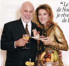 Celine Dion et René Angélil Noël 2000 ☝️