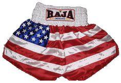 RAJABOXING fancy muay thai shorts
